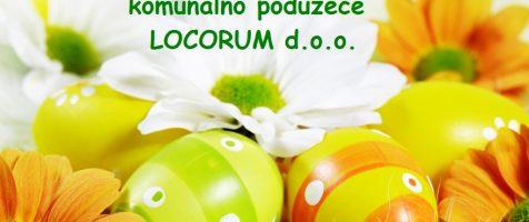 Sretan i blagoslovljen Uskrs želi vam LOCORUM d.o.o.
