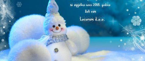 Sretan Božić i uspješna nova 2018. godina